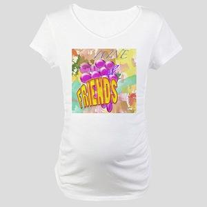 Wine & Friends Maternity T-Shirt