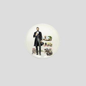 $2.99 Abraham Lincoln Mini Button