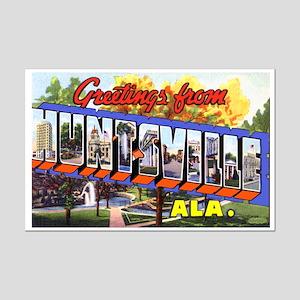 Huntsville Alabama Greetings Mini Poster Print