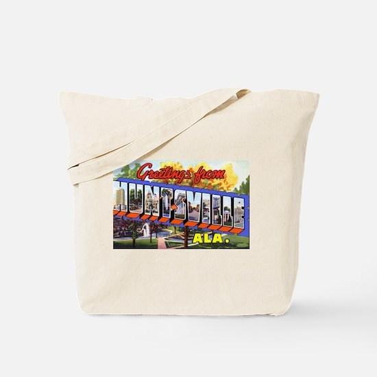 Huntsville Alabama Greetings Tote Bag