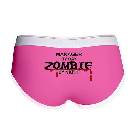 Manager Zombie Women's Boy Brief