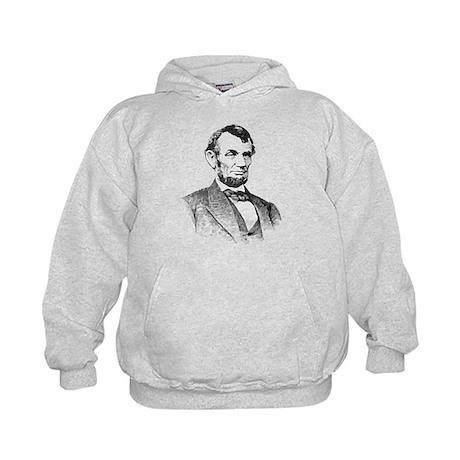 President Lincoln Kids Hoodie