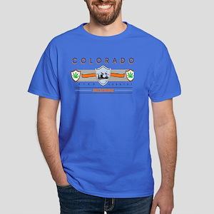 Breckenridge Colorado Marijuana Dark T-Shirt