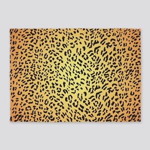 Leopard Spots 5'x7'Area Rug