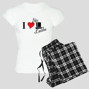 I Love Abe Lincoln Women's Light Pajamas
