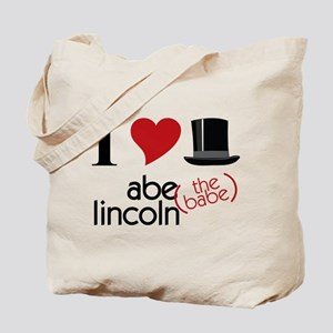 Abe The Babe Tote Bag