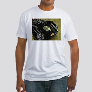 Vintage Racing Car Fitted T-Shirt
