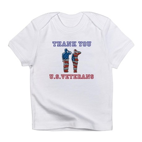 Thanks to our U.S. Vets Infant T-Shirt