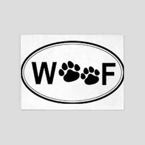 woof 5'x7'Area Rug