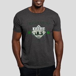 Colorado Springs Marijuana Dark T-Shirt