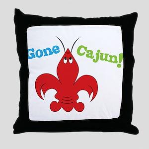 Gone Cajun Throw Pillow