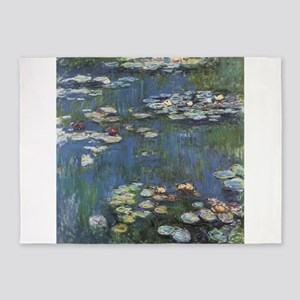 Waterlilies 5'x7'Area Rug