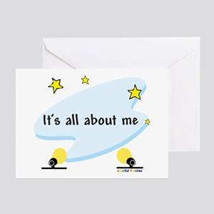 It's All About Me -  Greeting Cards (Pk of 10)