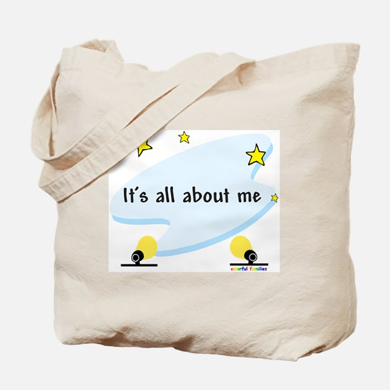 It's All About Me - Tote Bag