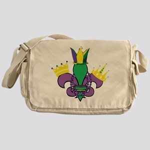 Mardi Gras Party Messenger Bag