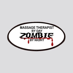 Massage Therapist Zombie Patches