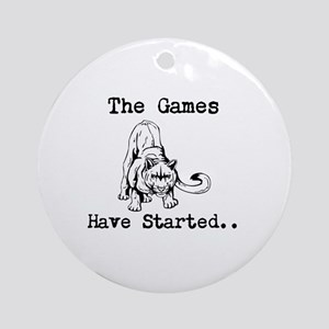 Hunger Games Mutts Ornament (Round)