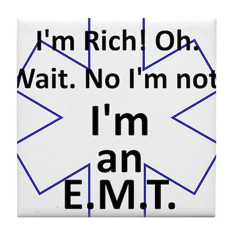 Rich EMT Tile Coaster