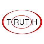 """Rut/Truth"" sticker"