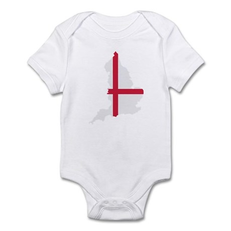 England map flag Infant Bodysuit