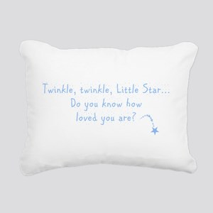 twinkleblue Rectangular Canvas Pillow