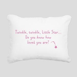 TWINKLE Rectangular Canvas Pillow