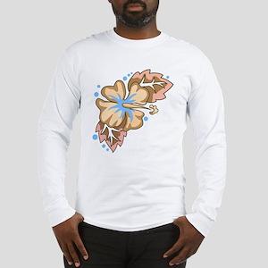 Tropical Flower Long Sleeve T-Shirt