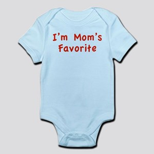 I'm mom's favorite Infant Bodysuit
