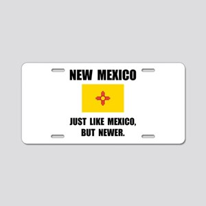 New Mexico Newer Aluminum License Plate