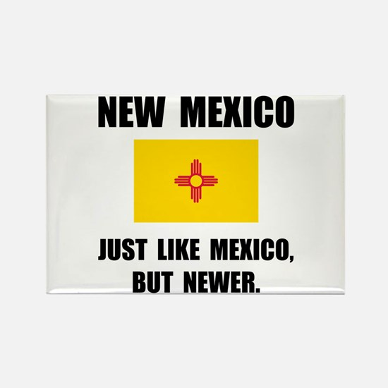 New Mexico Newer Rectangle Magnet (10 pack)