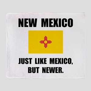 New Mexico Newer Throw Blanket