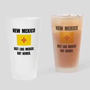 New Mexico Newer Drinking Glass