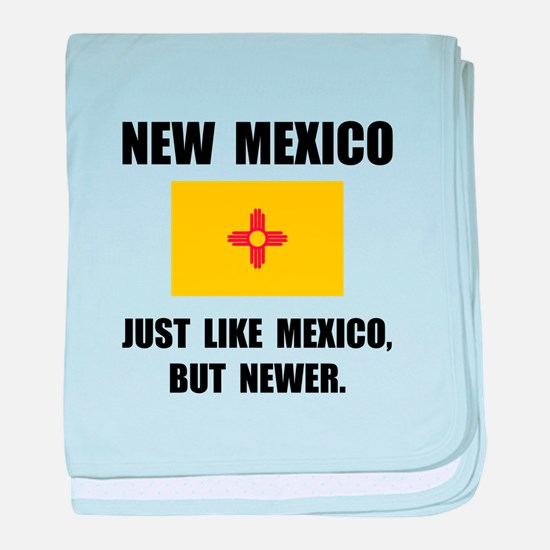 New Mexico Newer baby blanket