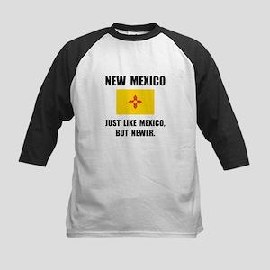 New Mexico Newer Kids Baseball Jersey