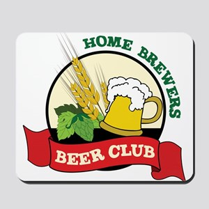 Home Brewers Mousepad