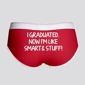 I graduated. Now I'm like smart and stuff! Women's