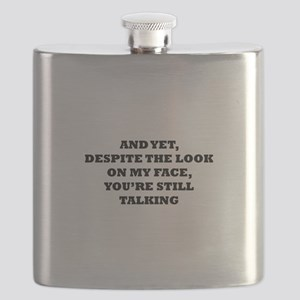 Still Talking Flask
