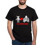 Robot Loves Octopus Dark T-Shirt