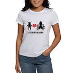 Robot Loves Octopus Women's T-Shirt