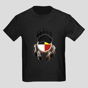 Circle Of Courage Kids Dark T-Shirt