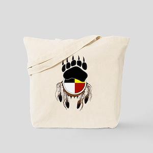 Circle Of Courage Tote Bag