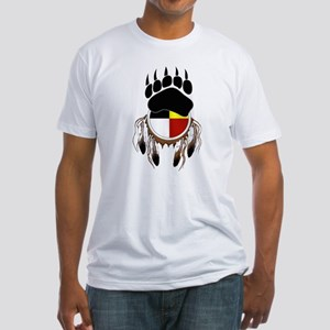 Circle Of Courage Fitted T-Shirt