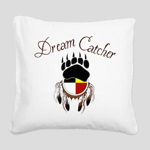 Dream Catcher Square Canvas Pillow