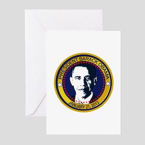 Obama Inauguration 2013 Greeting Cards (Pk of 10)