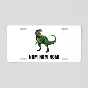 Rex Nom Nom Aluminum License Plate