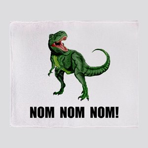 Rex Nom Nom Throw Blanket