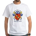 Leitch Coat of Arms, Family C White T-Shirt