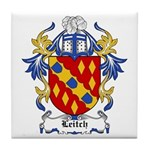 Leitch Coat of Arms, Family C Tile Coaster