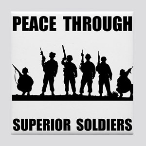 Superior Soldiers Tile Coaster