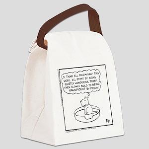 Quietly Wonderful Canvas Lunch Bag